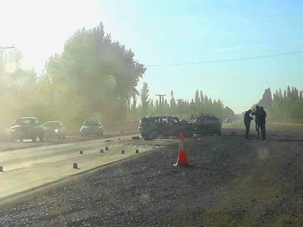 Dos heridos en un accidente en Ruta 22 | Mejor Informado