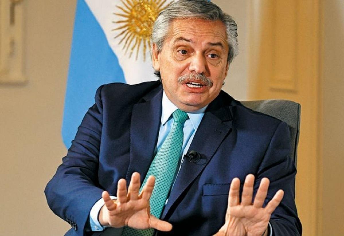 El presidente Alberto Fernández se vacunó con la Sputnik V