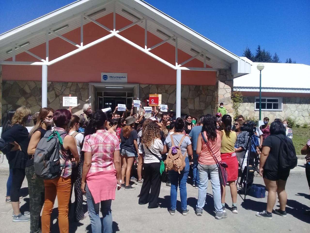 Así detenían al femicida en Villa La Angostura