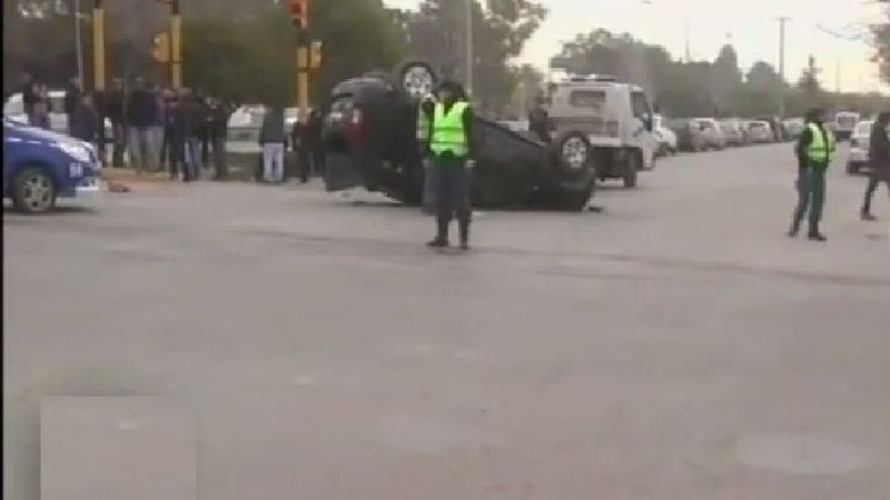 Accidente en la multitrocha