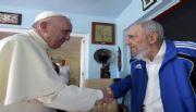 El Papa se reunió con Fidel en La Habana