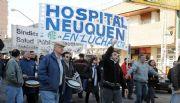 Empleados de Salud realizan un paro en toda la provincia