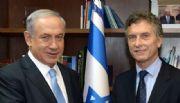 Llegó a la Argentina el primer ministro de Israel Benjamín Netanyahu