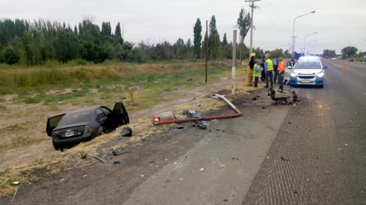 4 personas lesionadas en un domingo accidentado