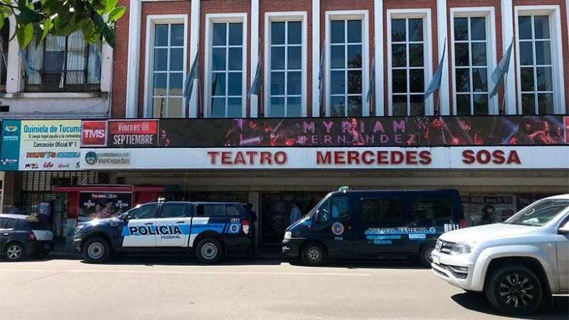 Clausuran el teatro en el que se accidentó Sergio Denis