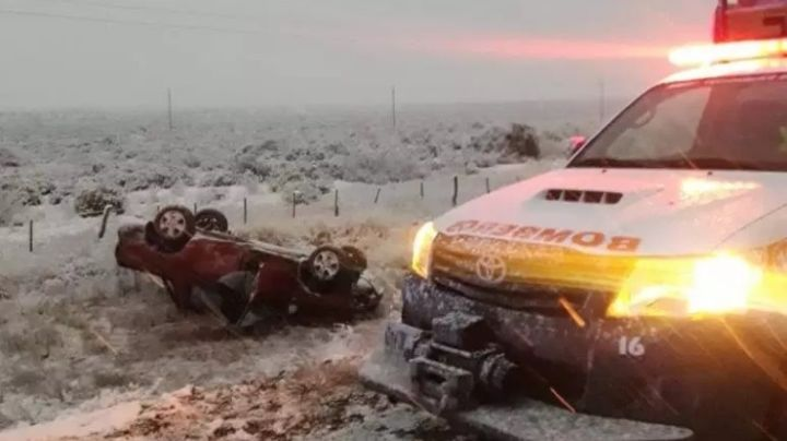 Cuatro heridos en un accidente en Cutral Co