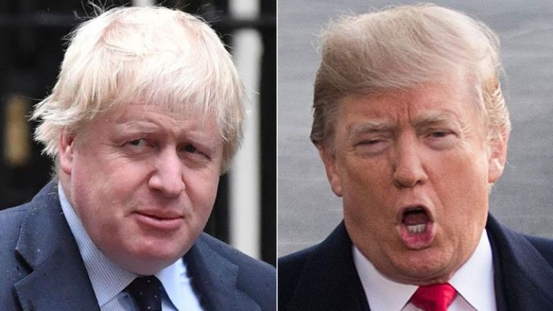 ¿Trump y Johnson, parecidos y distintos al mismo tiempo?