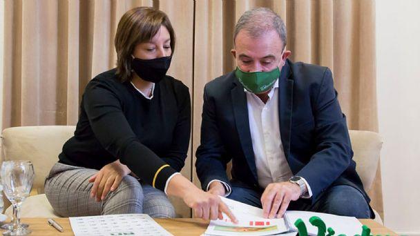 El intendente Pedro Pesatti adhirió a la iniciativa del gobierno de Arabela Carreras en relación a la producción de hidrógeno verde