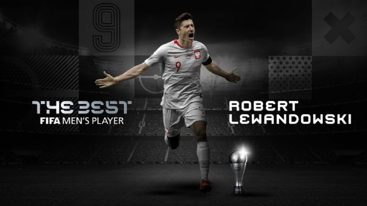 Robert Lewandowski ganó el The Best