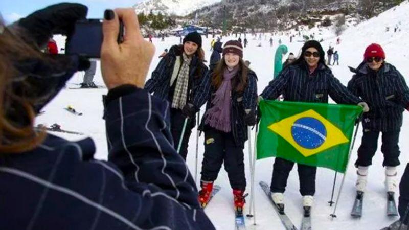 Otro invierno sin turismo brasileño en Bariloche