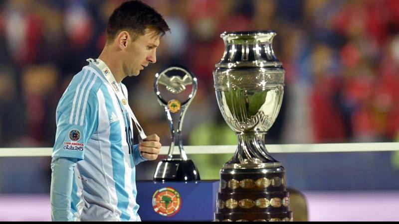 Bomba, La Copa América no se juega en Argentina