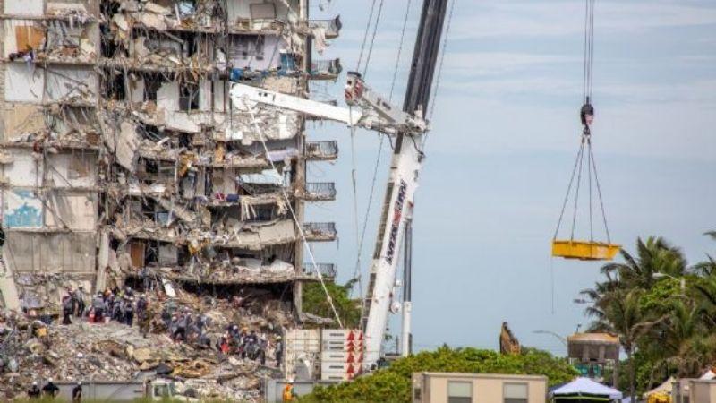 Ya son 16 los muertos confirmados por el derrumbe en Miami